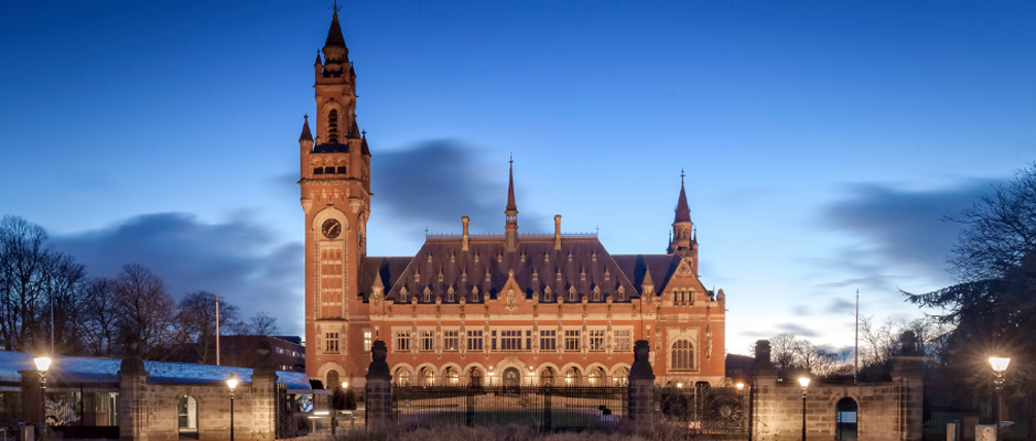 The Peace Palace in The Hague, home of the Permanent Court of Arbitration